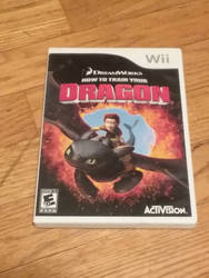 My HTTYD game for the wii  by UnicornLover2500