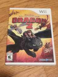 my HYTYD2 game for the wii by UnicornLover2500