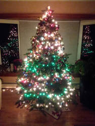 my Family Christmas Tree 2018 by UnicornLover2500