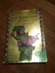 my Junie B first grader jingle bells book  by UnicornLover2500