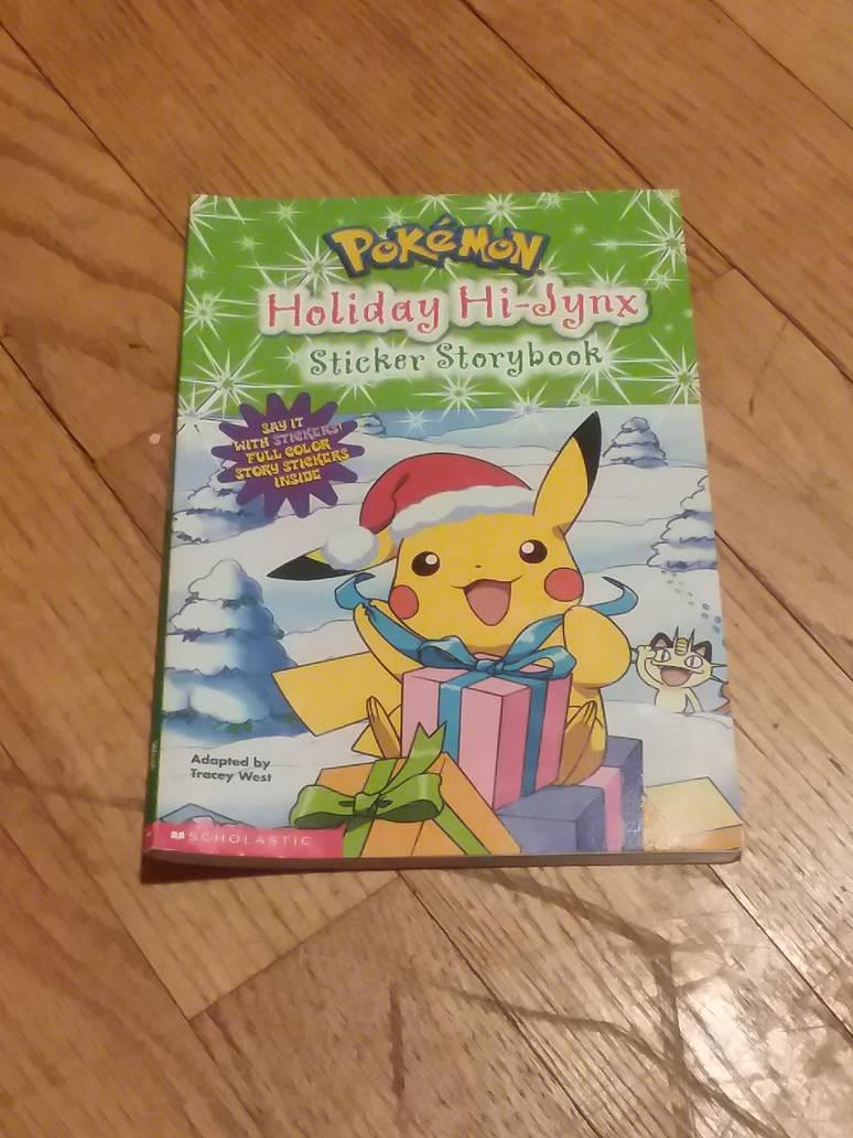my pokemon Holiday Hi-Jynx sticker storybook by UnicornLover2500