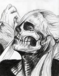 Skull Girl by KainOc
