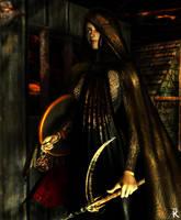 Vanth Cleric of WeeJas by lordcrusan