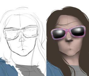 Progress: X-23 Laura Kinney by jenna-aw