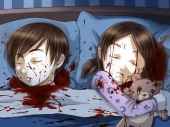sleeping children by Murata