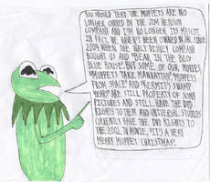 Kermit On The Muppets' Ownership by ElectricStormFire86