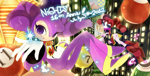 NiGHTS 16th Anniv. by supply