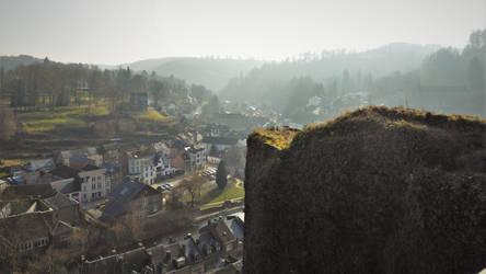 La Roche from Ruin by CyranoInk