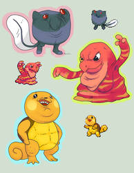 Pokemon Fusions Forever by StapledSlut