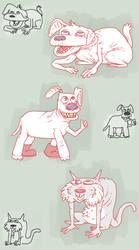 Yotam's Dogs by StapledSlut