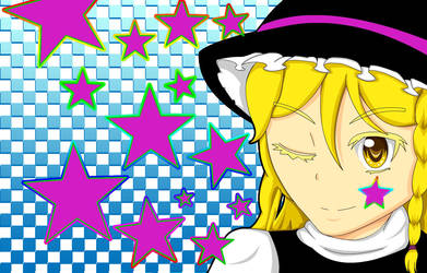 Marisa! Stars!! Option 2 :D by ZowyZoe