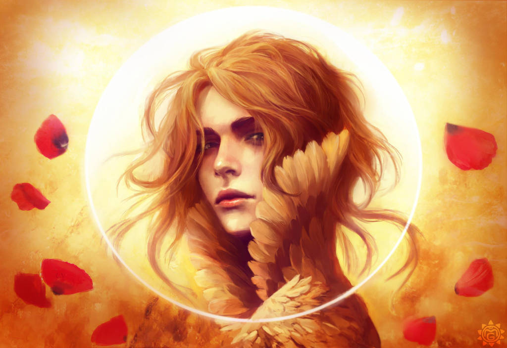 Sun God by MaryGlaid