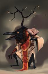 The dark priest by guillegarcia