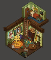 Tibo's Room by guillegarcia