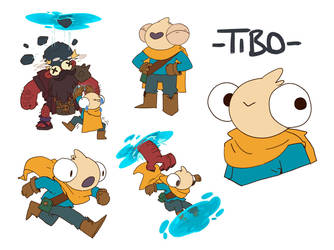 Tibo Character Sheet by guillegarcia