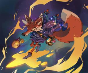 Cauldron - Star Mage by guillegarcia