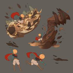 Cauldron - Terraformer Action Sheet by guillegarcia