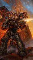 Chaos Space Marine by DevBurmak