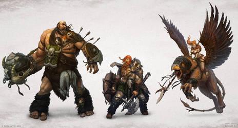 Warlords: Art of War - Barbarians by DevBurmak