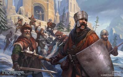 Frostgrave soldiers by DevBurmak