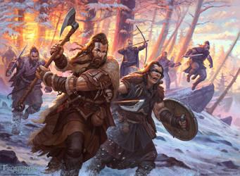 Frostgrave Barbarians by DevBurmak