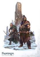Frostgrave: Barbarians by DevBurmak