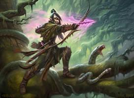 Poison-tip Archer by DevBurmak