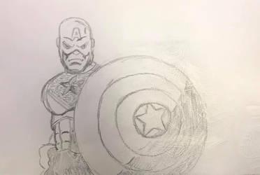 Captain America by Wild74Bill