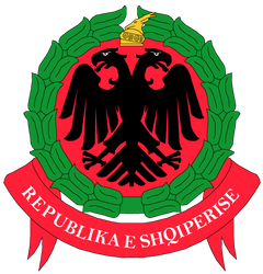 Albania coat of arms proposal by Samogost
