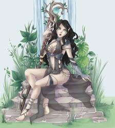 comm: druid by hollowCho
