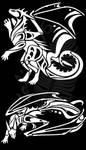 Dragon Tribals by Natoli