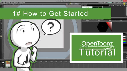 OpenToonz Tutorial 1# - How to Get Started by HulluMel