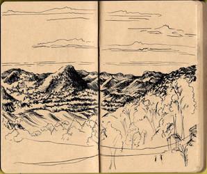 Canela City - Mountain range by Marimari13