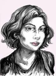 Self portrait by Marimari13