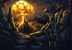 Starcraft - Reap the ruin by cubehero