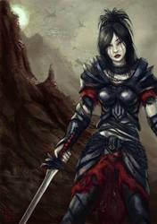 Warrior by cubehero