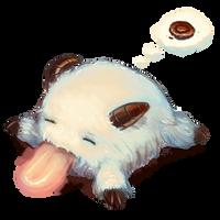 LoL - Sleepy Poro by cubehero