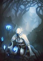 Dark Souls - Fall of Amana by cubehero