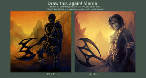 MEME: Draw This Again (Yemeth) by cubehero