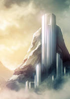 Mountain Fortress by cubehero