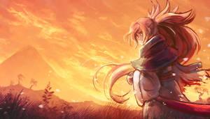 Guilty Gear - Lone Samurai by cubehero