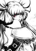 Guilty Gear - Mikaeri Dizzy by cubehero