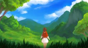 Grasslands Stroll by cubehero