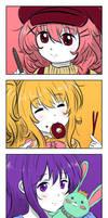 Comic Girls - Comic Girls by cubehero