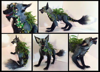 Gangrene Fox Poseable Art Doll by Blazesnbreezes