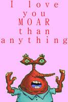 Mr. Krabs Valentines by legoman1203