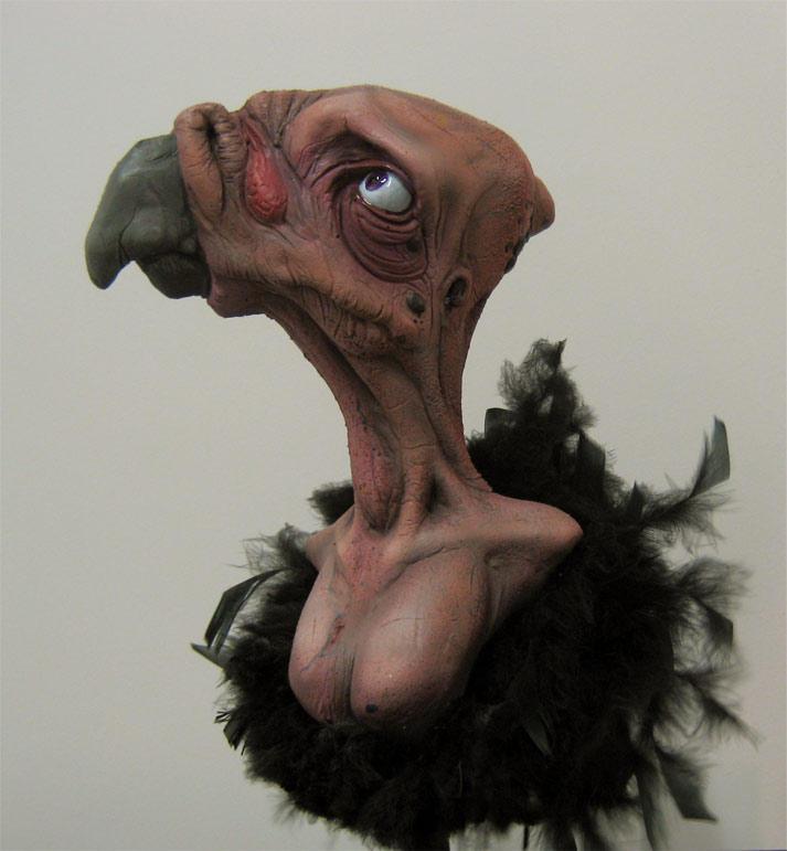 The Olde Bird -in technicolor by SculptorSteve
