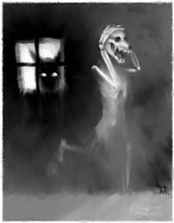 Ghost Dog by lightbulby