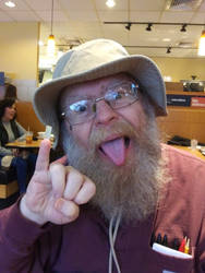 Crazy Guy With Fingernail by gytalf2000