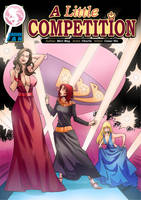 A Little Competition - Three Shrinking Beauties by shrink-fan-comics